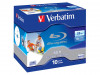 BD-R VERBATIM 25GB X6 PRINTABLE (10-PACK JEWEL CASE) (DAMAGED PACKAKING)