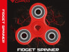 FIDGET SPINNER GENESIS RED