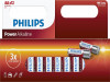 BATTERIES PHILIPS POWER ALKALINE AA LR6 (BLISTER OF 12 PCS)