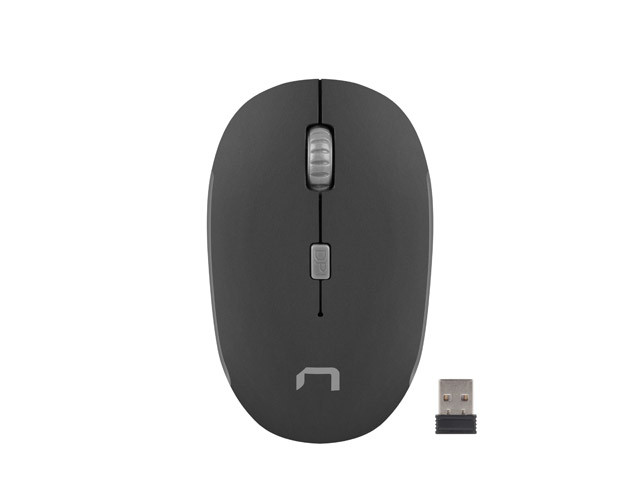 MOUSE NATEC MARTIN OPTICAL WIRELESS 1600 DPI BLACK/GREY