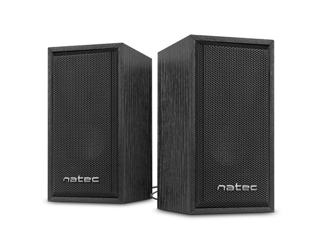 SPEAKERS NATEC 2.0 PANTHER USB BLACK 6W RMS