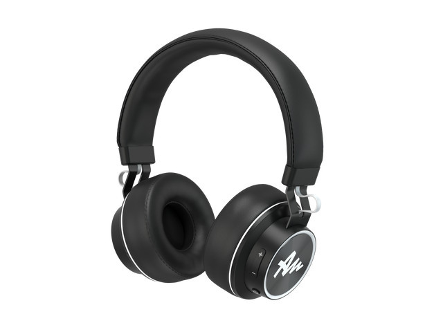 HEADPHONES AUDICTUS WINNER WIRELESS WITH MICROPHONE BLACK