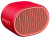 BLUETOOTH SPEAKER SONY XB01 6H RED