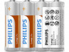BATTERIES PHILIPS ZINC CHLORIDE LONGLIFE R6 AA (4PCS)